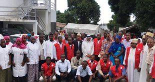 """الأمين العام للمنظمة العربية للهلال الأحمر والصليب الأحمر للأشقاء اللاجئين في يوم العمل الإنساني : """"نحن معكم"""""""
