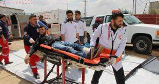 المنظمة العربية للهلال الاحمر والصليب الاحمر تدين استهداف المدنيين العزل في غزة والأراضي الفلسطينية عامة