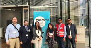 المنظمة العربية للهلال الأحمر والصليب الأحمر تشارك في مؤتمر نظم المعلومات الجغرافية GIS من أجل التنمية العالمية بجنيف