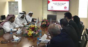 وفد اللجنة الدولية للصليب الأحمر يطلع على جهود الأمانة العامة للمنظمة العربية للهلال الأحمر والصليب الأحمر في مجال العمل الإنساني
