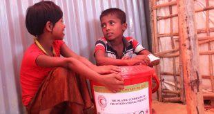 تنسيق إغاثي إنساني لمواجهة خطر موت أطفال الروهينجا بمشروع صحي وغذائي نوعي