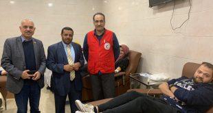 إشادة بجهود جمعية الهلال الأحمر المصري المتواصلة تجاه حادثة قطار مصر 