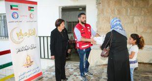 توزيع وجبات الافطار على الأسر الاردنية السورية في محافظة مادبا