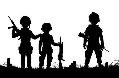 الأطفال الجنود في ظل القانون الدولي الإنساني