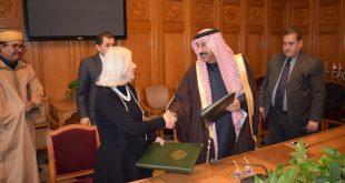 توقيع مذكرة تفاهم بين المنظمة العربية وجامعة الدول العربية لتنسيق العمل الإنساني خصوصا ما تعلق بمواجهة الكوارث