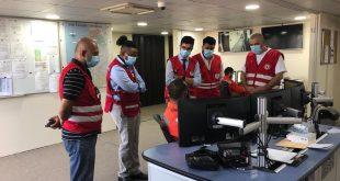 (آركو) توثق ميدانياً استجابة الصليب الأحمر اللبناني لكارثة مرفأ بيروت