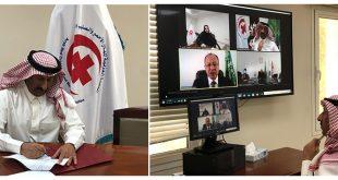 توقيع مذكرة تفاهم بين المنظمة العربية لتكنولوجيات الاتصال والمعلومات والمنظمة العربية للهلال الأحمر والصليب الأحمر